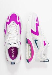 Nike Sportswear - AIR MAX 200 - Sneakersy niskie - photon dust/valerian blue/white/vivid purple - 3
