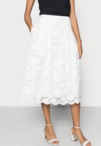 Esprit Collection - SKIRT - A-line skirt - off white - 3