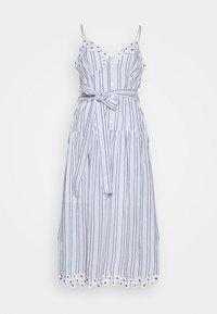 BUTTON MIDI DRESS - Day dress - crew blue