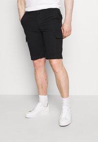Tommy Hilfiger - JOHN CARGO - Shorts - black - 0