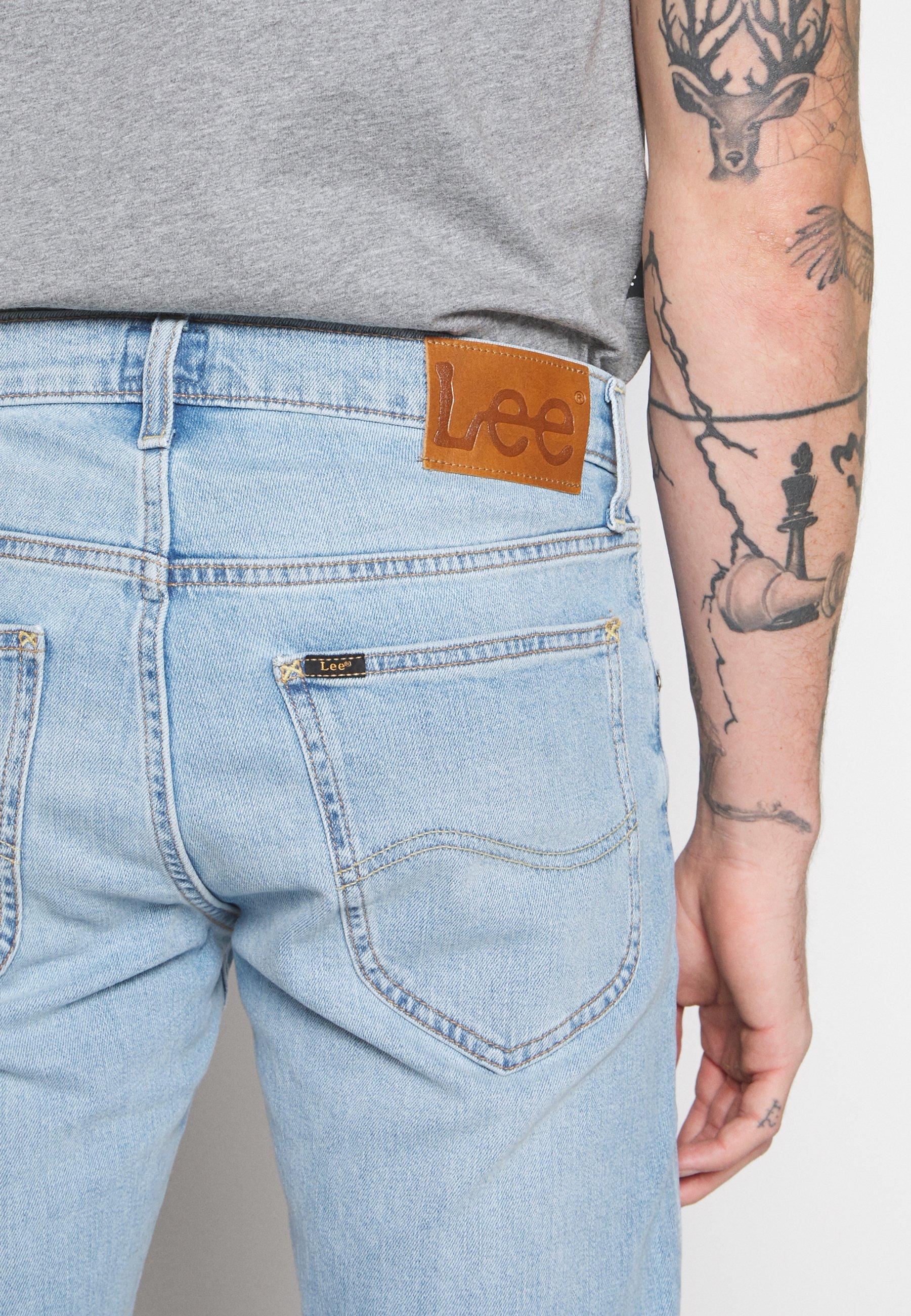 Lee DAREN BUTTON FLY - Jeans straight leg - mid city worn
