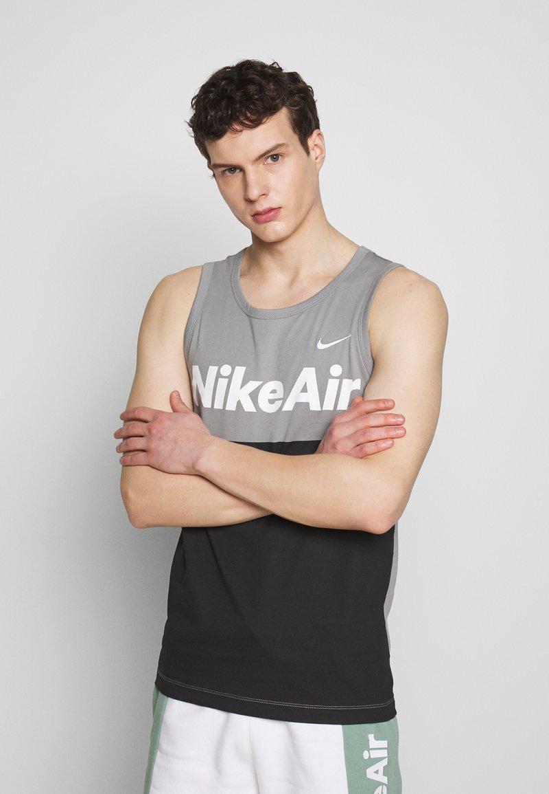 Nike Sportswear - AIR TANK - Top - particle grey/white