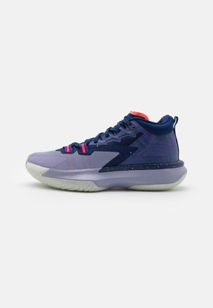 ZION 1 - Basketball shoes - blue void/bright crimson/fierce purple/indigo haze