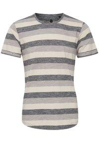 Solid - RUNDHALSSHIRT THICCO - Print T-shirt - black - 2
