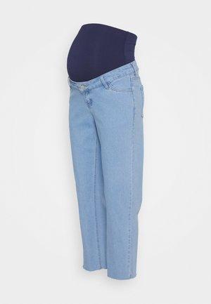 STRAIGHT LEG CROP - Straight leg jeans - blue
