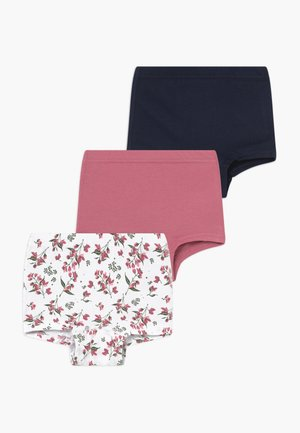NMFTIGHTS 3 PACK  - Kalhotky - heather rose