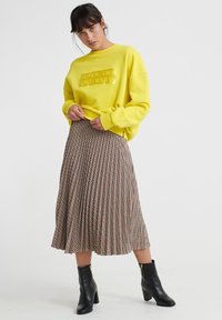 Superdry - A-line skirt - brown - 3