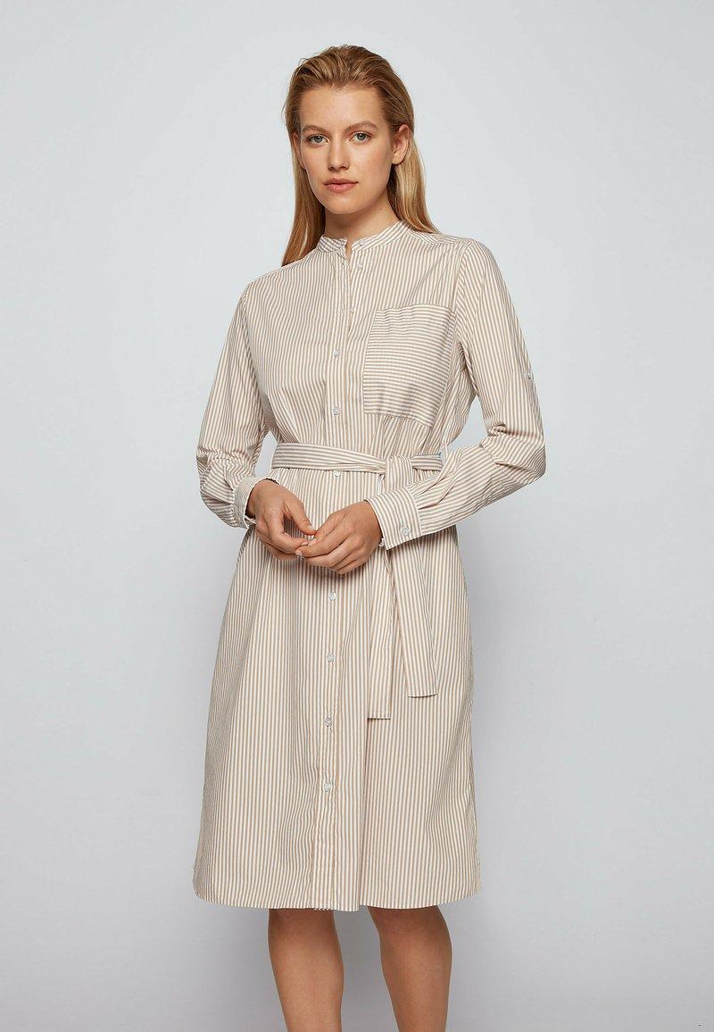 BOSS - DAMONA - Day dress - beige