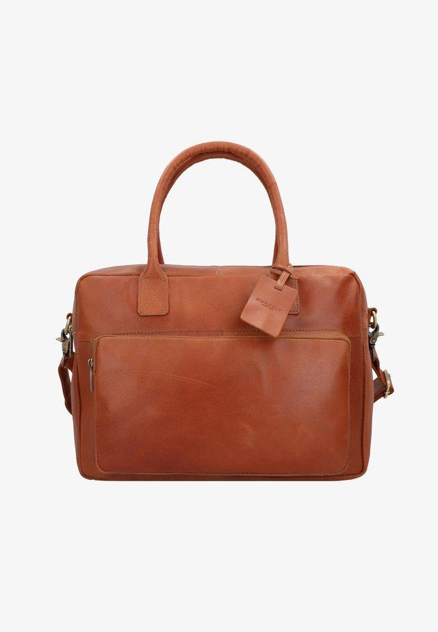 VINTAGE  - Briefcase - cognac
