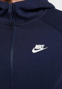 Nike Sportswear - Sudadera con cremallera - obsidian/white - 5