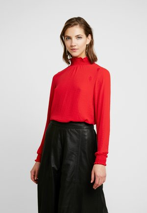 VMDAGNY SMOCK - Blouse - chinese red
