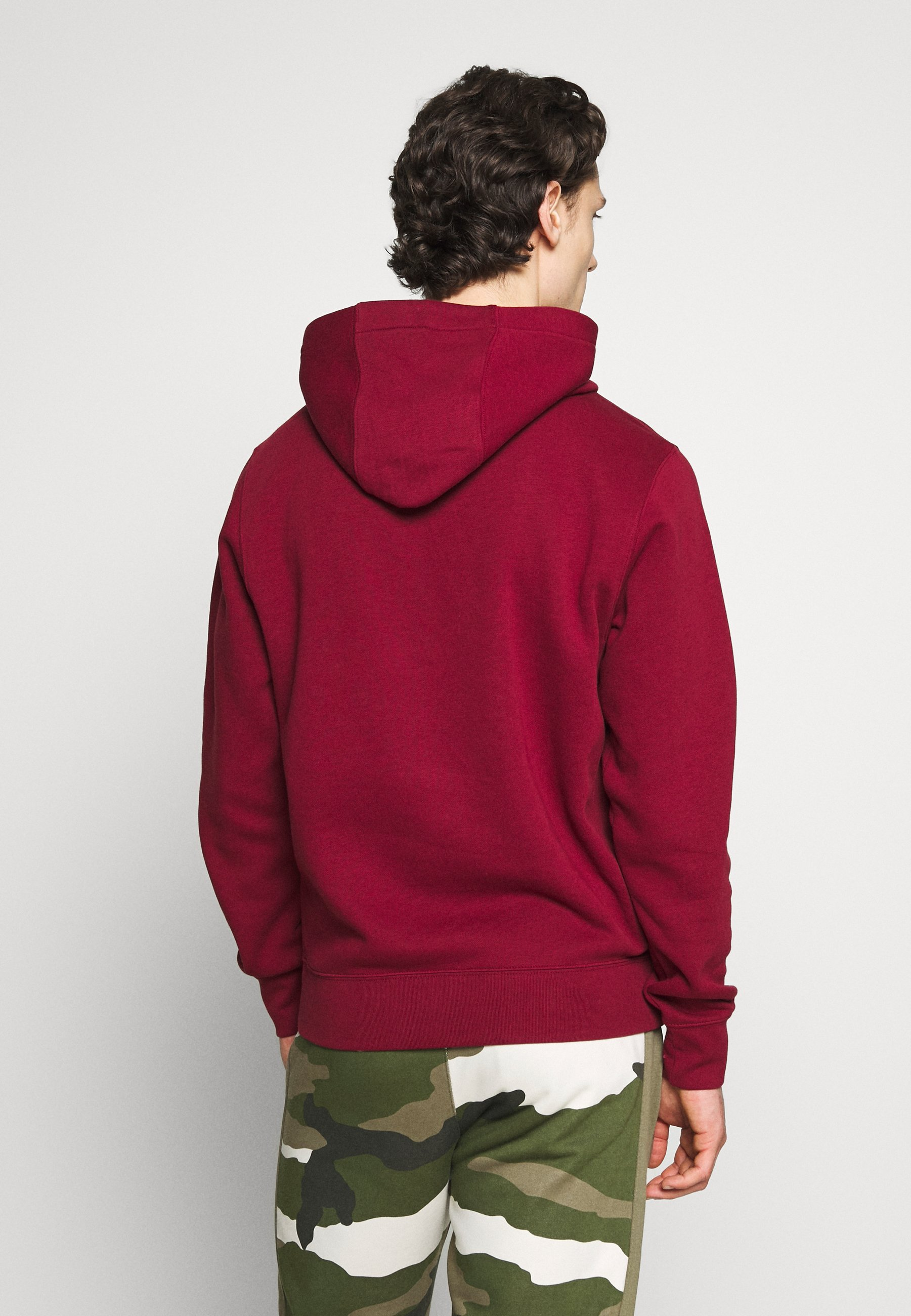 Nike Sportswear CLUB  HOODIE - Sweat à capuche - team red