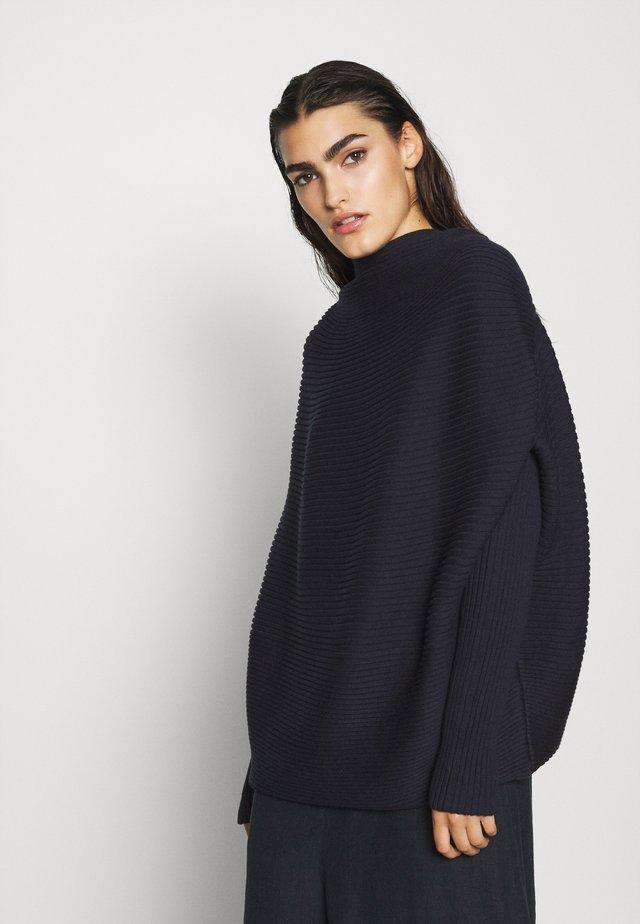ROBIN DRAPE - Pullover - navy