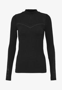 ONLY Play - ONPJAMINA SLIM CIRCULAR - Treningsskjorter - black - 5