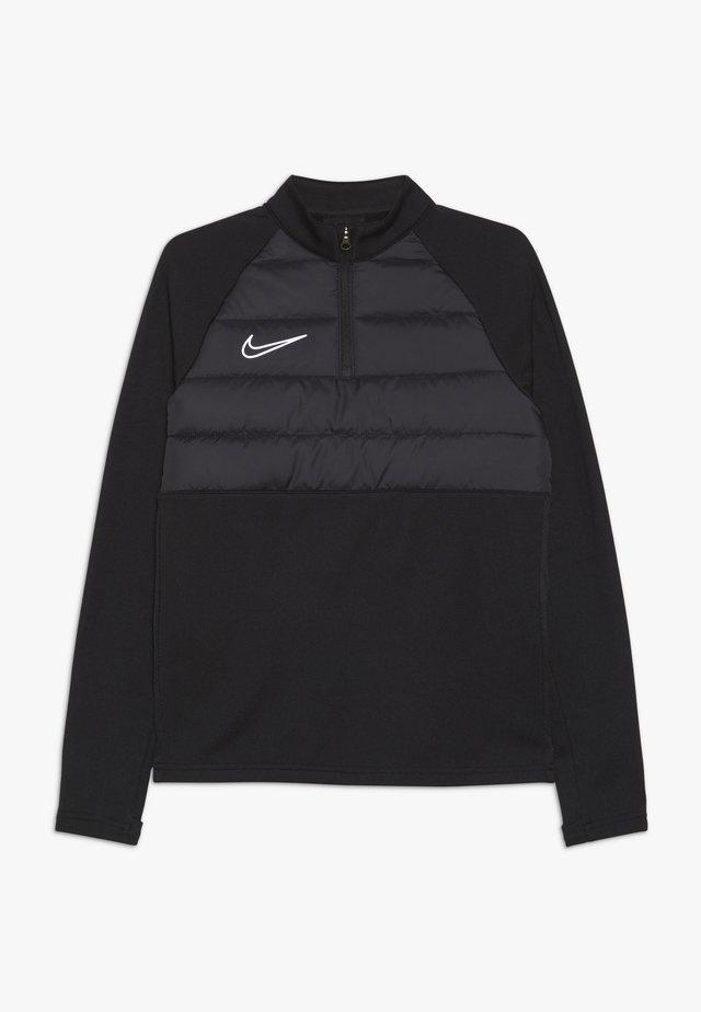 DRIL WINTERIZED  - Fleece jumper - black/reflective silver
