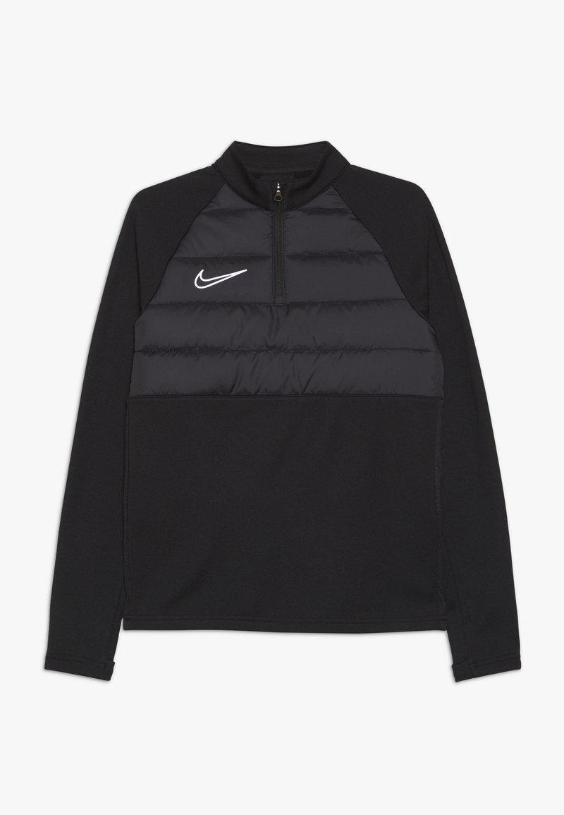 Nike Performance - DRY PAD ACADEMY DRIL WINTERIZED - Sportshirt - black/reflective silver