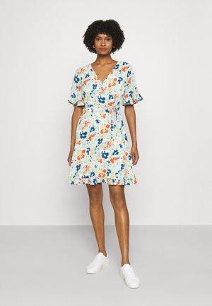 PRINTED DRESS - Day dress - colonial cream