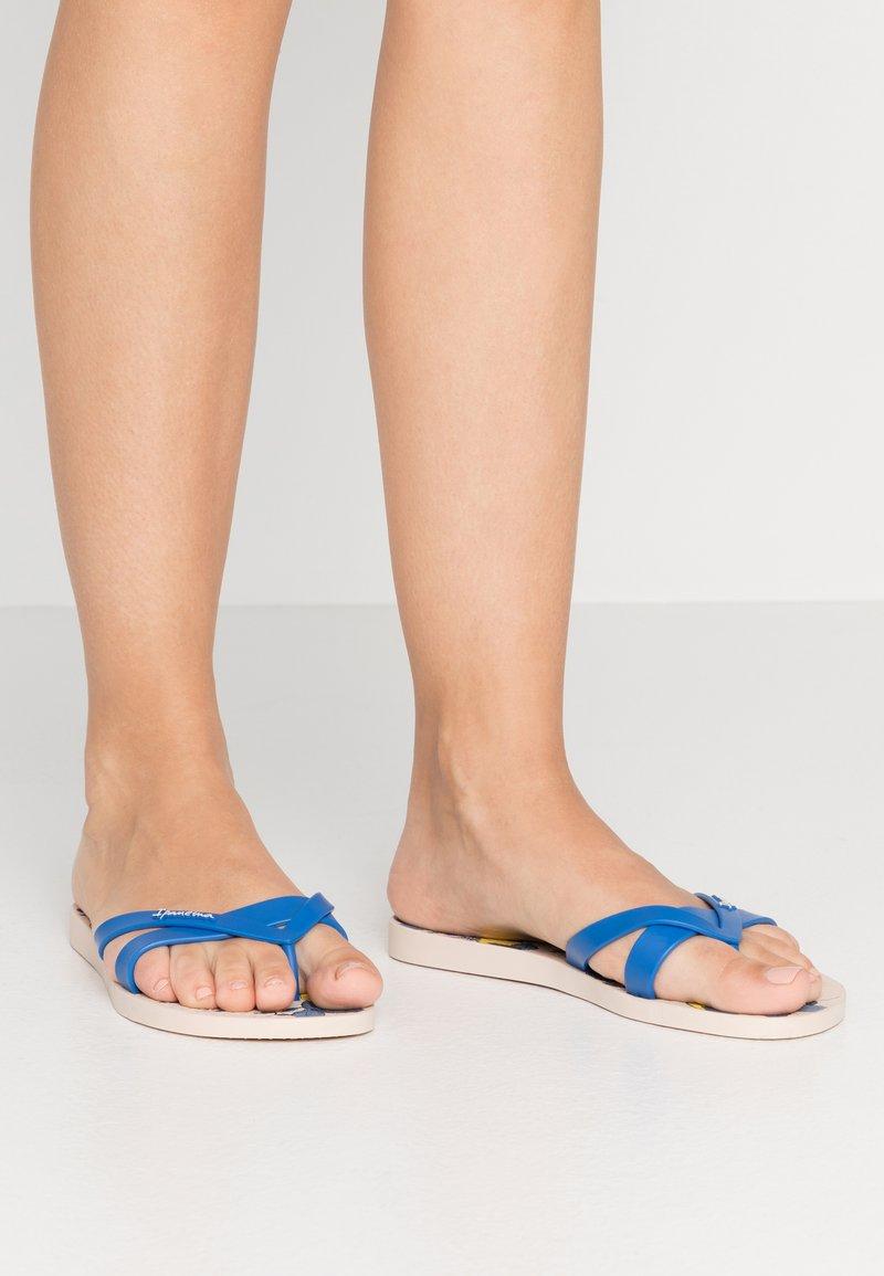 Ipanema - KIREI  - Varvassandaalit - beige/blue