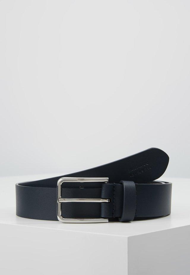 UNISEX LEATHER - Gürtel - dark blue