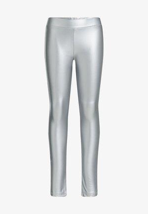 Leggings - Trousers - silver