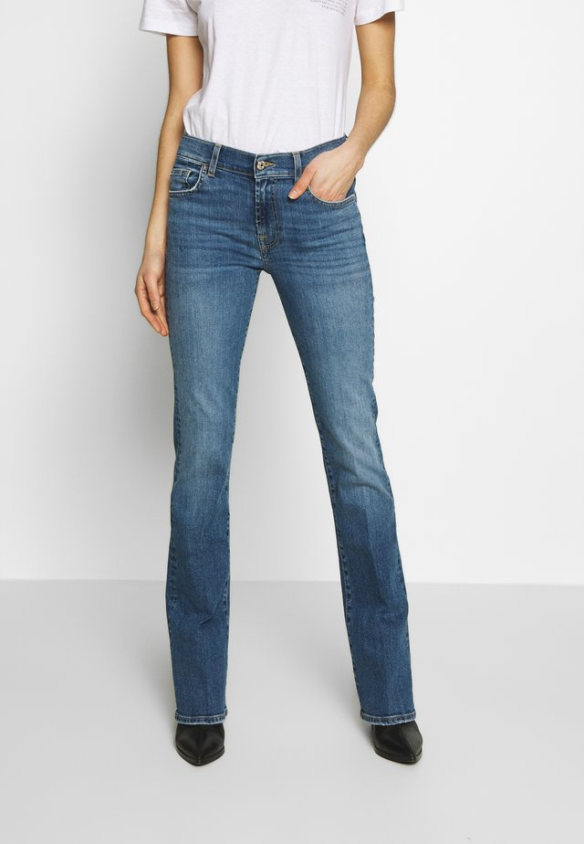 Bootcut jeans - blue grey