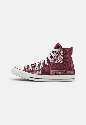 CHUCK TAYLOR ALL STAR UNISEX - Sneakers hoog - deep bordeaux/vintage white/black