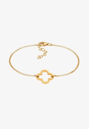 KLEEBLATT CUT-OUT - Bracelet - gold