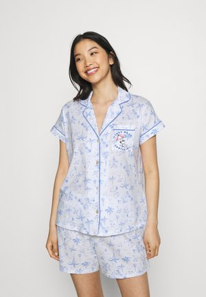 SHORT SLEEVES MASCULINE - Pijama - blue