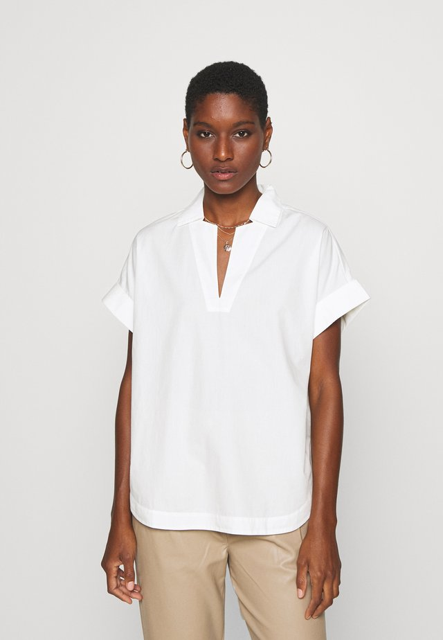 BLOUSE - Pusero - scandinavian white