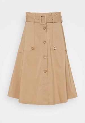 FANCY SKIRT - A-line skirt - desert