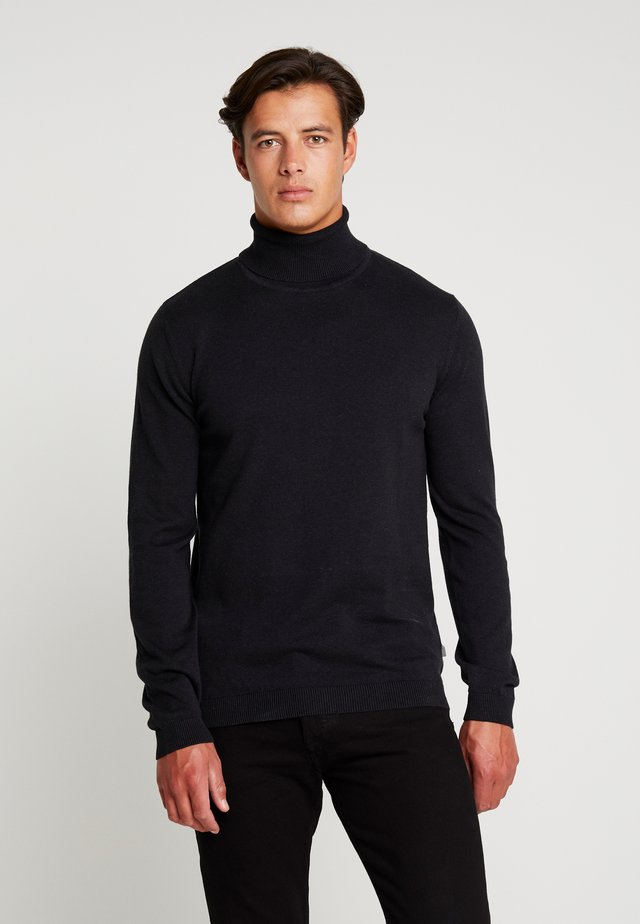 DRAPER ROLLNECK - Pullover - black