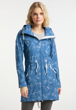 Waterproof jacket - graublau