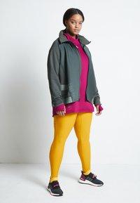 adidas Performance - ASK C.RDY - Leggings - yellow - 2