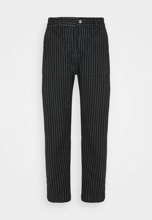 PAINTER MAN PANT - Trousers - black