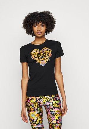 TEE - T-shirt imprimé - black