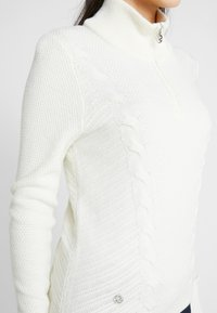 Daily Sports - CATTIE UNLINED - Stickad tröja - white - 4