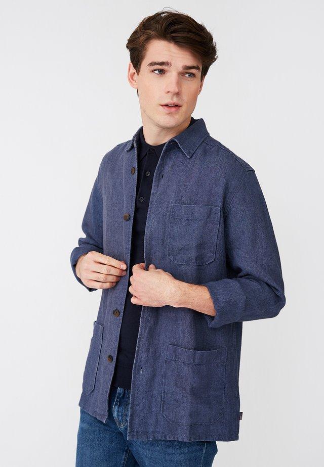 ROBERT - Summer jacket - blue