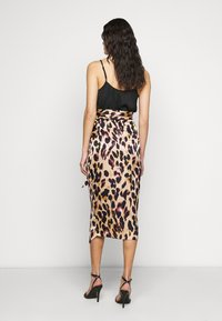 Never Fully Dressed Tall - ARTIST PRINT JASPRE SKIRT - Wrap skirt - brown - 2