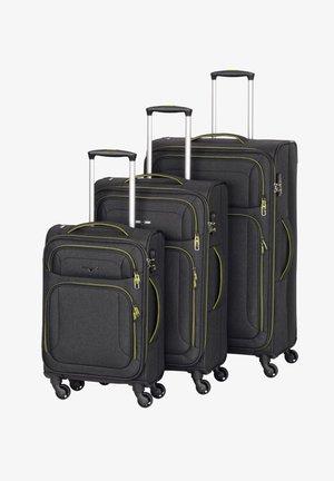AIRSTREAM SET 3 - Set di valigie - anthracite / lemon