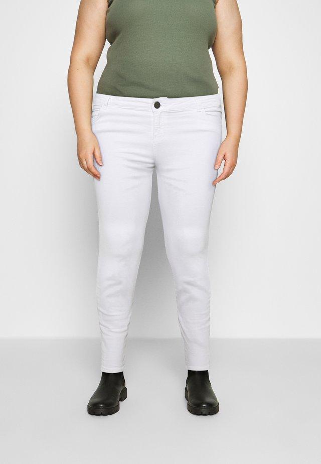 NMLUCY - Skinny džíny - white
