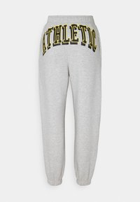 Weekday - SOFT SPORT CORINNA PANTS - Tracksuit bottoms - grey melange - 1