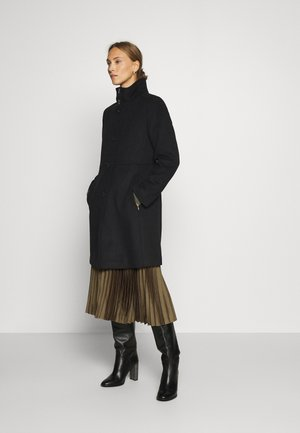 BASIC COAT - Kåpe / frakk - black