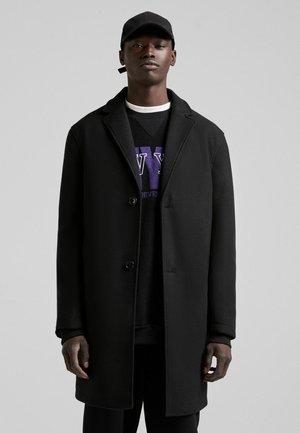 BEQUEMER - Klasyczny płaszcz - black