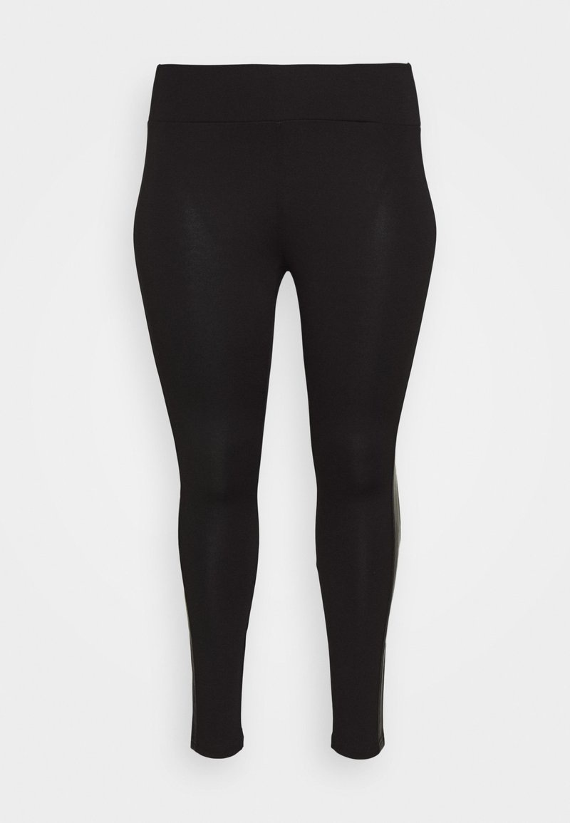 JUNAROSE - by VERO MODA - SIPPA LEGGINGS  - Leggings - Trousers - black