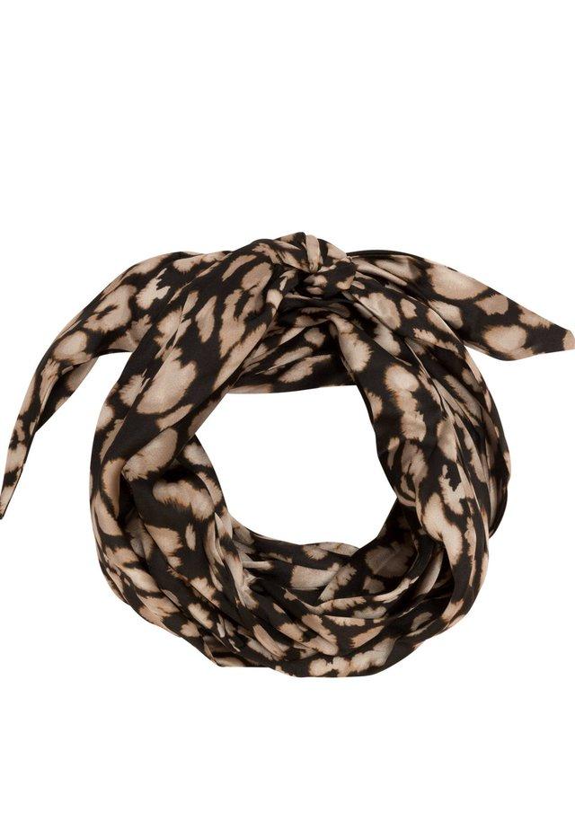 MIT ANIMALPRINT - Hair styling accessory - black