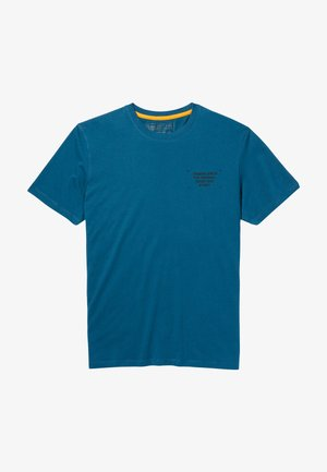 YC SS BACK BOX TEE REG - T-paita - majolica blue
