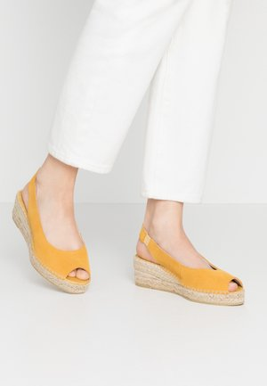 Loafers - mostaza
