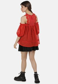 myMo ROCKS - BLUSE - Blouse - red - 2