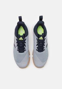 adidas Performance - ESSENCE - Handball shoes - half silver/legend ink/hi-res yellow - 3