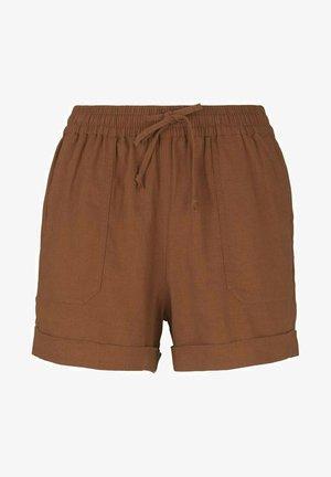 Szorty - amber brown